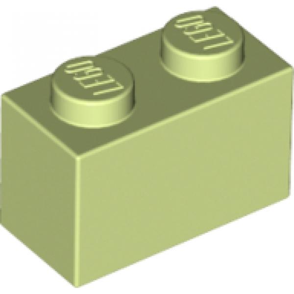 NEUF NEW green Brick 1x2 10 x LEGO 3004 Brique vert