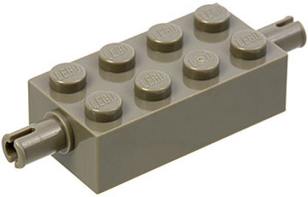 Lego 6249# 12x Achse 2x4 grau neu dunkelgrau 76013 7344 3677 7965 75105