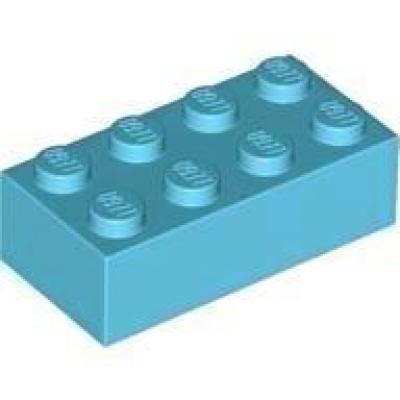 Lego Basic 50 x 3001 Stein 2x4x1 2x4 Grün Baustein  50 Stück