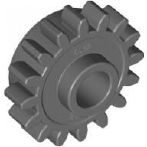 mit Kupplung in Neu-Dunkelgrau MENGENAUSWAHL LEGO Technik Zahnrad 16 Z 6542b