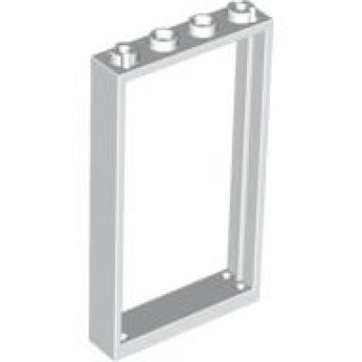 2 x Tür 60616 transparent klar Lego 2 x Tür Rahmen 60596 weiß 1x4x6