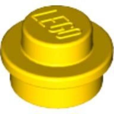 LEGO® 1.000 Stück Basic 1 x 1 Platte Rund Transparent Gelb #4073 Z-31