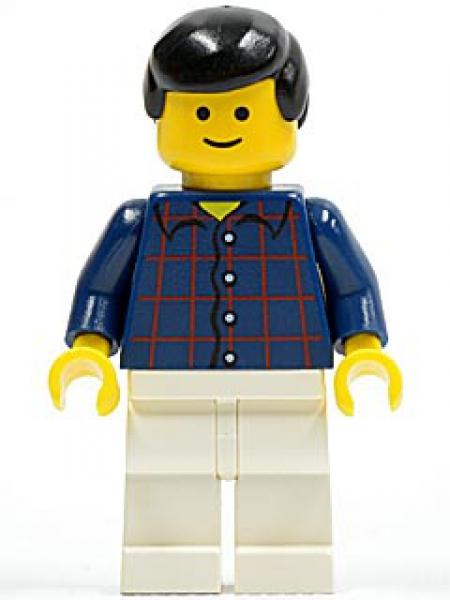 Lego Junge mit roter Baseballkappe Sportshirt Minifigur City cty0770 Figur Neu