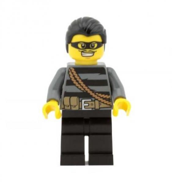 lego brick shop lego einzelteile und ersatzteile lego minifig figur einbrecher cty363 7749. Black Bedroom Furniture Sets. Home Design Ideas