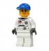 City Minifigur Space weibl. weiss (cty225)
